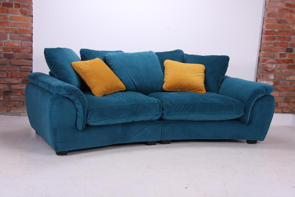 Megasofa blau  ABC Nábytek Prodáváme sedací soupravy, nábytek z masivu, pohovky a ...