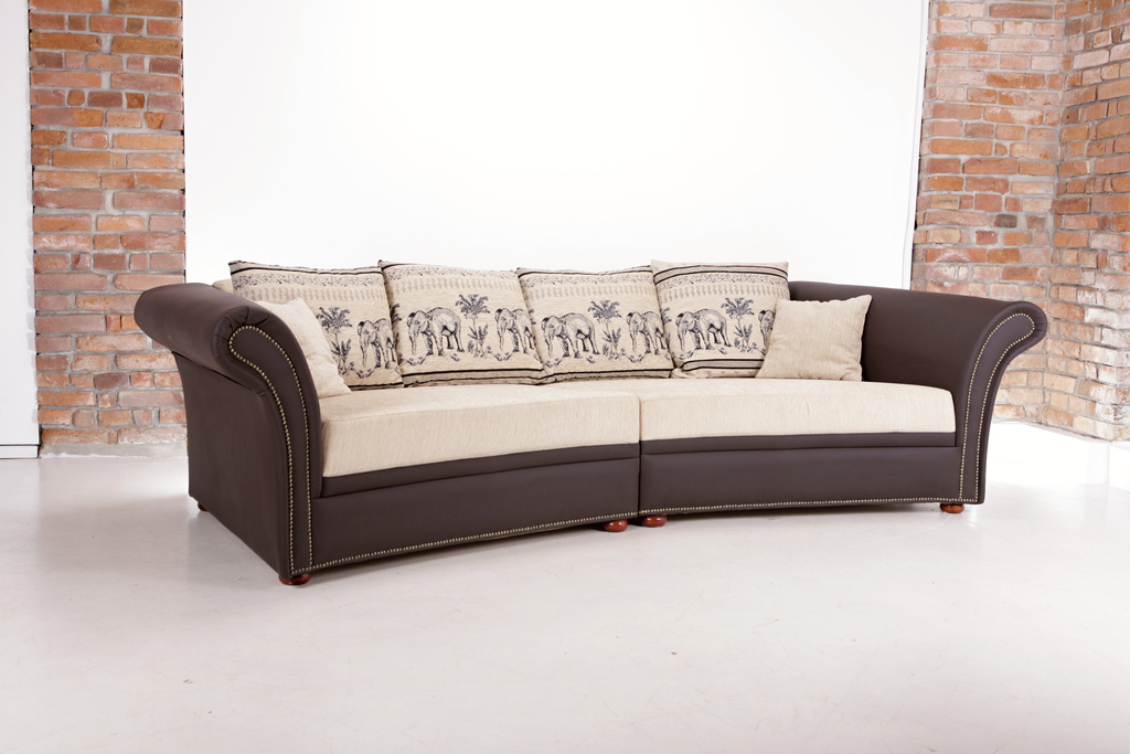 kolonial sofa ecksofa grau ebay fr gemtliches wohnzimmer. Black Bedroom Furniture Sets. Home Design Ideas